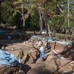 digging site