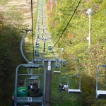 riding chairlift