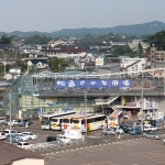 View of Matsushima fish market