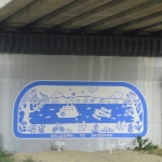 Hon Shiogama welcome sign