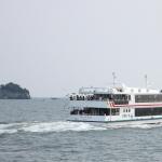 matsushima bay cruise and seagulls