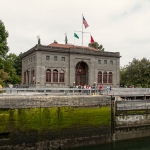 Ballard locks building