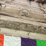 Temple ceiling beam